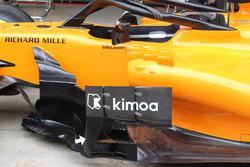 McLaren MCL33 sidepod delfectors