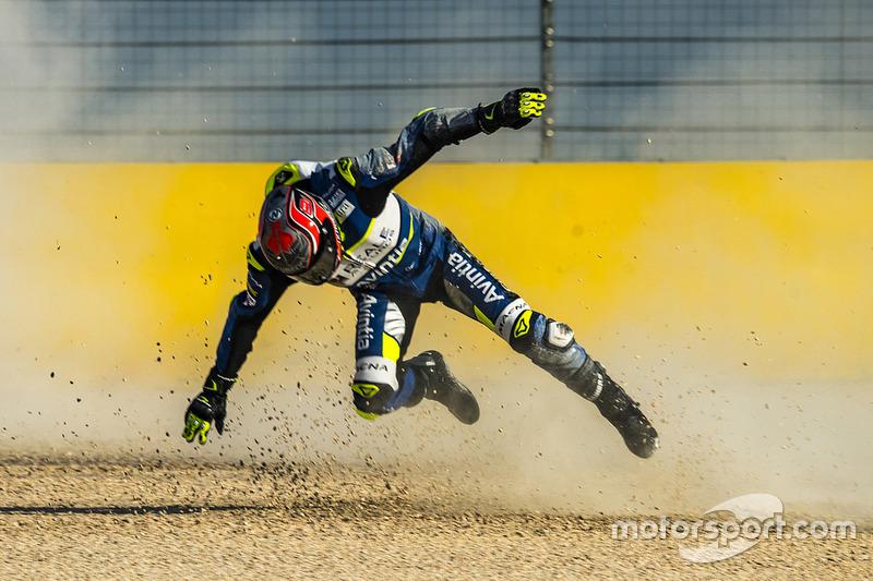 Jordi Torres, Avintia Racing caída