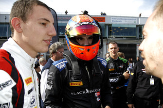#90 Akka ASP Team Mercedes-AMG GT3: Nico Bastian, #88 Akka ASP Team Mercedes-AMG GT3: Raffaele Marciello, #6 BLACK FALCON Mercedes-AMG GT3: Luca Stolz