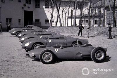Lanzamiento del Ferrari F1 de 1962