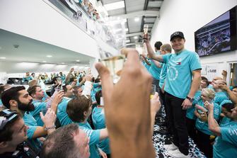Valtteri Bottas, Mercedes AMG F1 World Championship celebration