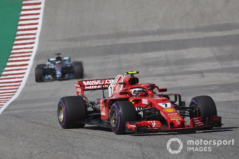 2018: Гран При США, Ferrari SF71H. Стартовал 2-м