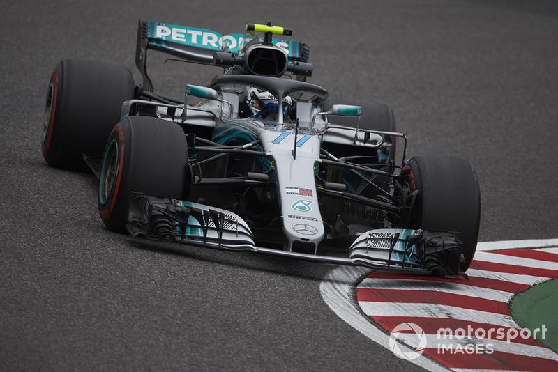 2: Valtteri Bottas, Mercedes AMG F1 W09, 1:28.059
