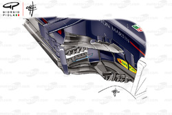 Red Bull RB14 side pods, Spanish GP