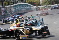 Jean-Eric Vergne, Techeetah Nelson Piquet Jr., Jaguar Racing, Andre Lotterer, Techeetah