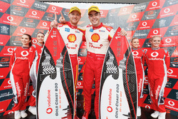 Podium: Les vainqueurs Alexandre Prémat, Scott McLaughlin, DJR Team Penske