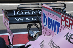 Sahara Force India VJM10 rear wing
