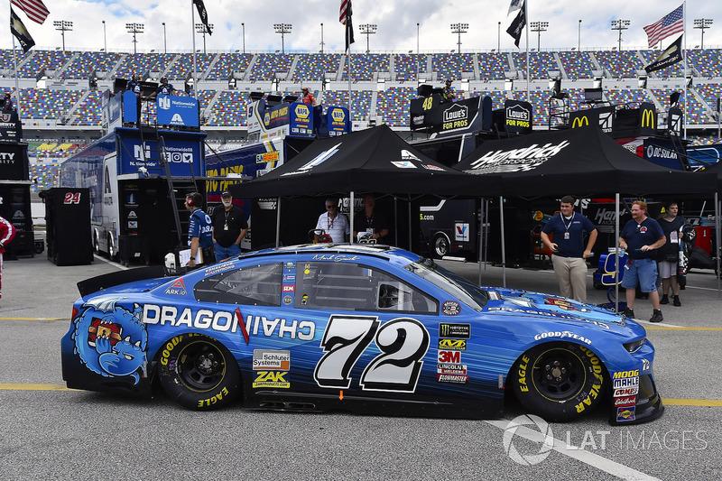 Corey LaJoie, TriStar Motorsports, Chevrolet Camaro Dragonchain