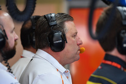 Zak Brown, PDG de McLaren Racing