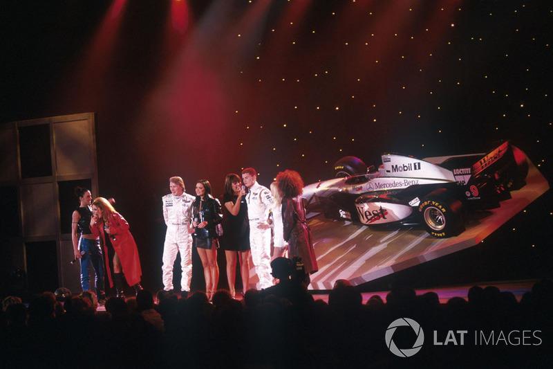 Spice Girls на презентації McLaren