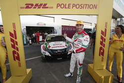 Pole position per Esteban Guerrieri, Honda Racing Team JAS, Honda Civic WTCC