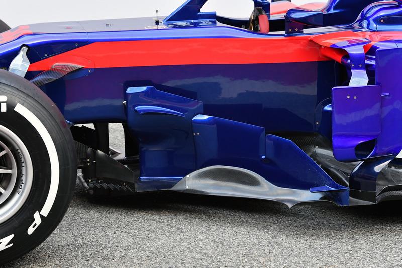 Дефлектор Toro Rosso STR13