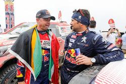 Giniel de Villiers, Toyota Gazoo Racing, Cyril Despres, Peugeot Sport