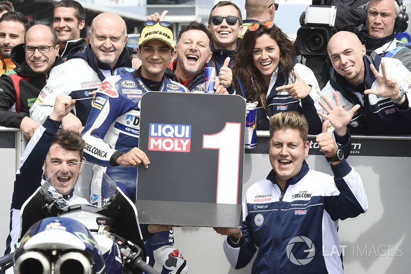 Pole sitter Jorge Martin, Del Conca Gresini Racing Moto3