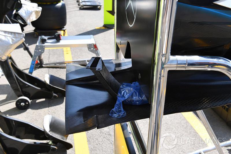 Mercedes-AMG F1 W09 EQ Power burun detay