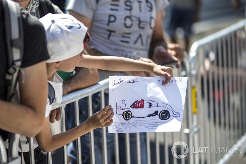 Гран Прі Франції: дитячий малюнок