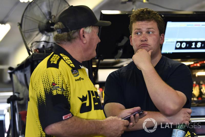 Cody Coughlin, GMS Racing, Chevrolet Silverado Jeg's.com and Jerry Baxter