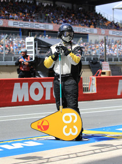 Corvette Racing team member