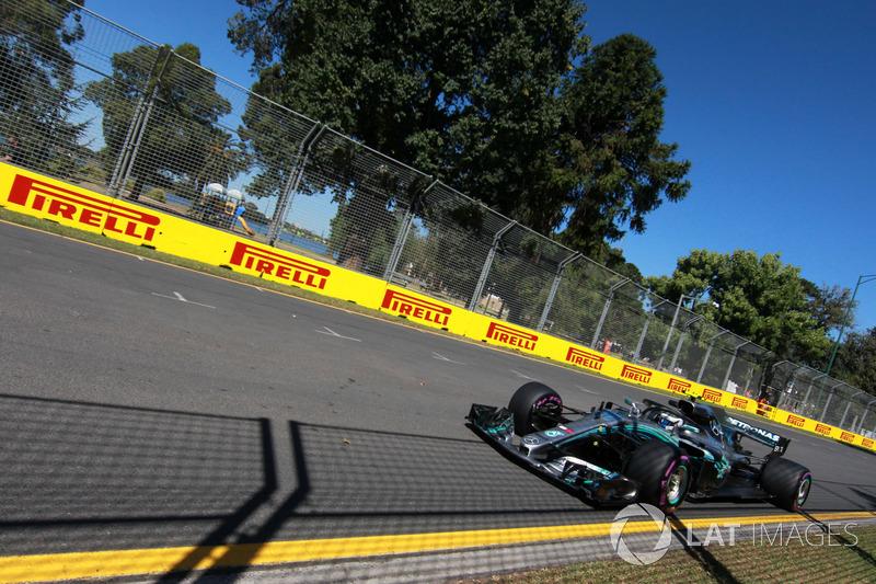 Valtteri Bottas, Mercedes-AMG F1 W09 EQ Power