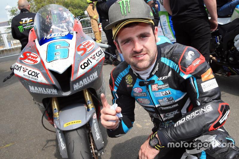 Race winner Michael Dunlop, MD Racing Honda