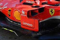 Bargeboards del Ferrari SF71H