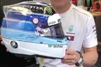 خوذة فالتيري بوتاس الخاصة لسباق موناكو