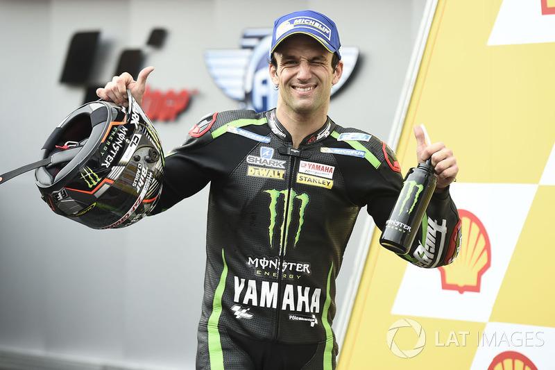 Podio: tercer clasificado, Johann Zarco, Monster Yamaha Tech 3