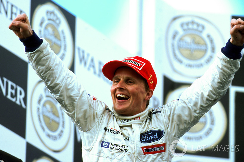 Em 1999, Herbert venceu o GP da Europa, prova marcada por chuva, acidentes e abandonos