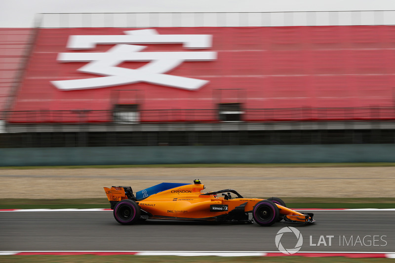 Stoffel Vandoorne, McLaren MCL33 Renault