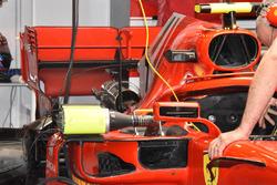 Arka kanat detay, Kimi Raikkonen, Ferrari SF71H