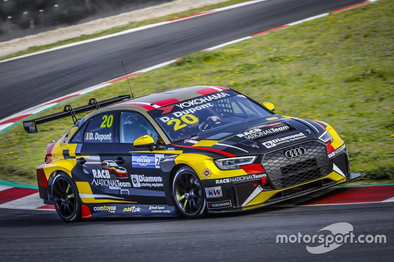 Дени Дюпон, Audi RS3 LMS TCR, Comtoyou Racing
