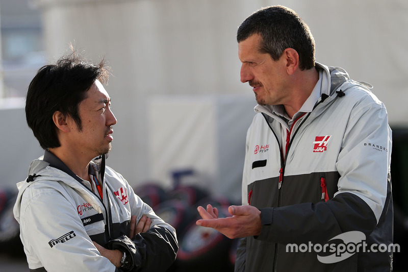 Haas F1 Team: Ayao Komatsu und Günther Steiner