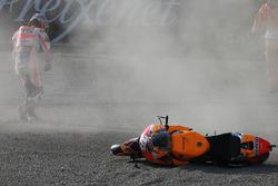 Dani Pedrosa, Repsol Honda Team choque