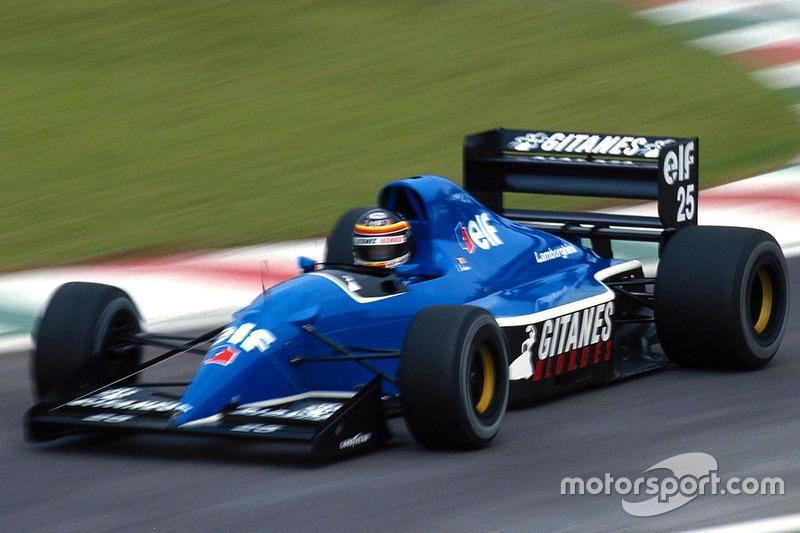 Thierry Boutsen, Ligier, Lamborghini JS37