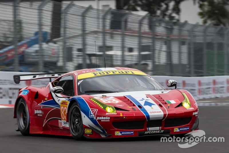 2. GTE-Am: #83 AF Corse, Ferrari 458 Italia: Francois Perrodo, Emmanuel Collard, Rui Aguas