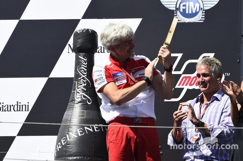 Gigi Dall'Igna, General Manager Ducati Corse, Doohan
