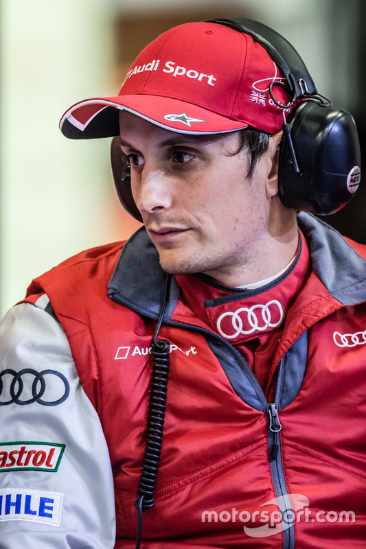 #8 Audi Sport Team Joest Audi R18: Oliver Jarvis