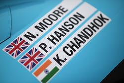 #34 Tockwith Motorsports Ligier JS P217 Gibson: Nigel Moore, Philip Hanson, Karun Chandhok detalle