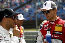 Gary Paffett, Mercedes-AMG Team HWA, Mercedes-AMG C63 DTM, Nico Müller, Audi Sport Team Abt Sportsline, Audi RS 5 DTM