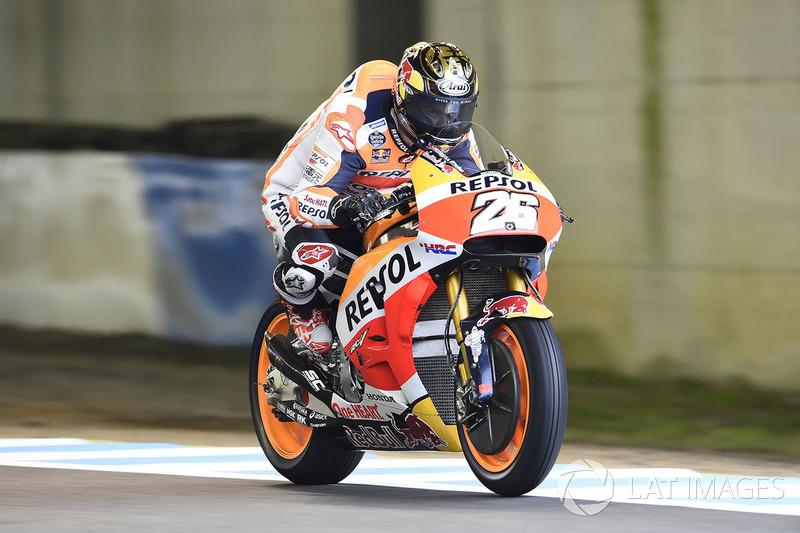 Ausfall: Dani Pedrosa, Repsol Honda Team