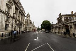 visuale di Whitehall road