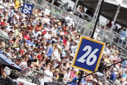 Takuma Sato, Andretti Autosport Honda sign