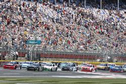 Austin Dillon, Richard Childress Racing, Chevrolet; Justin Allgaier, JR Motorsports, Chevrolet