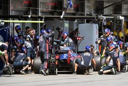 Пит-стоп: Карлос Сайнс-мл., Scuderia Toro Rosso STR12