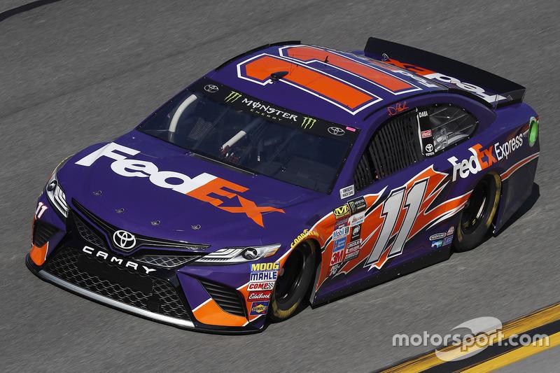 #11: Denny Hamlin, Joe Gibbs Racing, Toyota