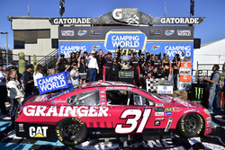 Ryan Newman, Richard Childress Racing Chevrolet wins