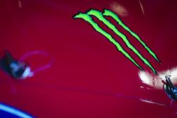 Monster Energy logo en el coche de Kurt Busch, Stewart-Haas Racing Ford