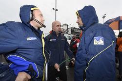 Les techniciens Michelin