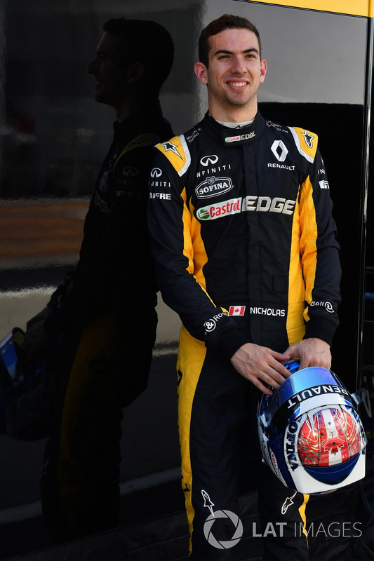 Nicholas Latifi, Renault Sport F1 Team