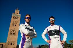 Сэм Бёрд, DS Virgin Racing, и Хосе Мария Лопес, DS Virgin Racing